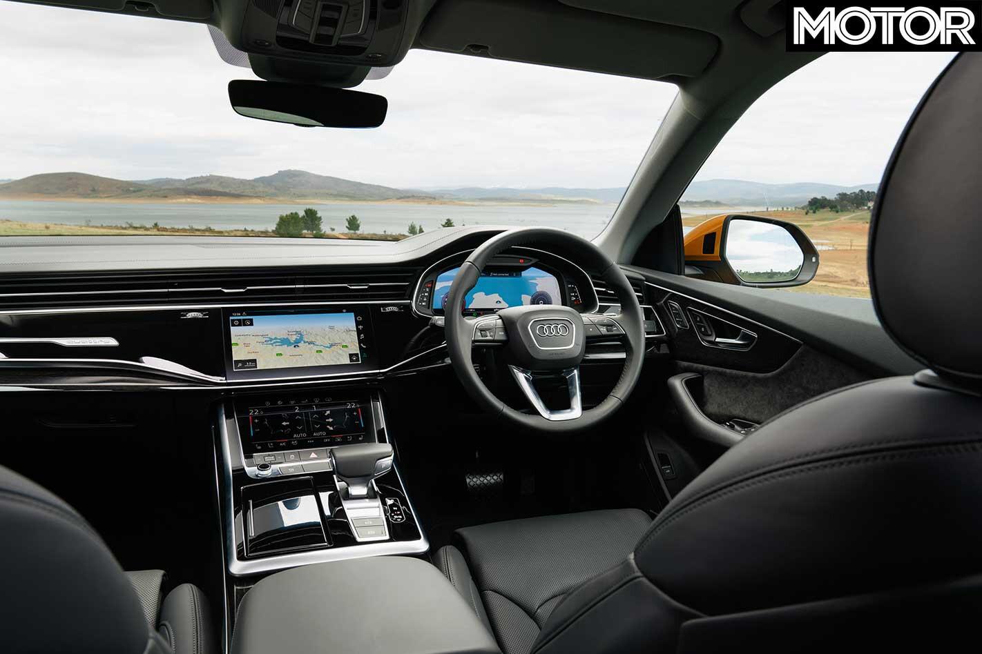 2019 Audi Q 8 55 TFSI Dashboard Jpg