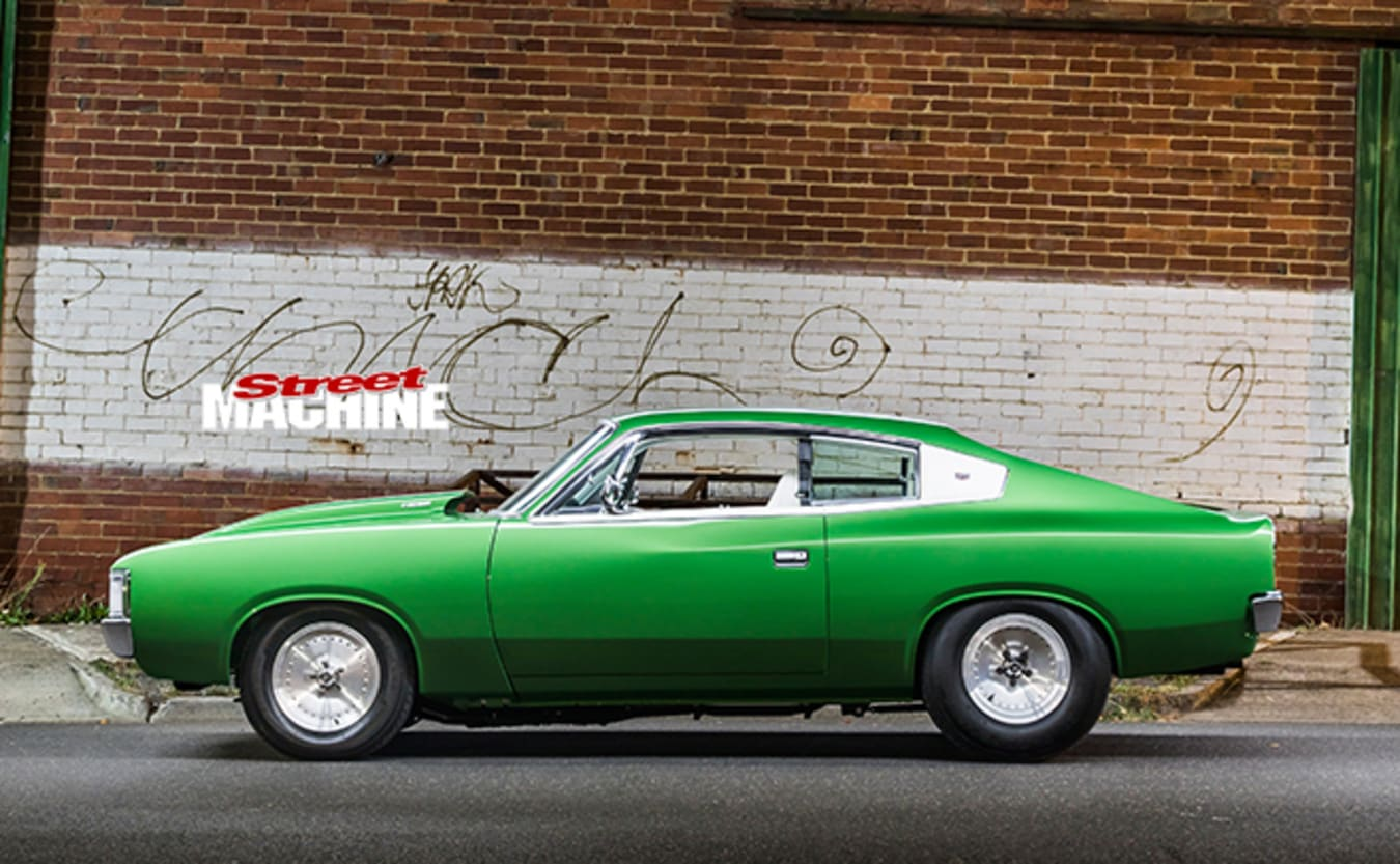 Valiant VH Charger side