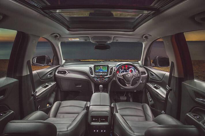 2018 Holden Equinox  interior