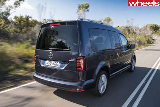 VW-Caddy -rear -black