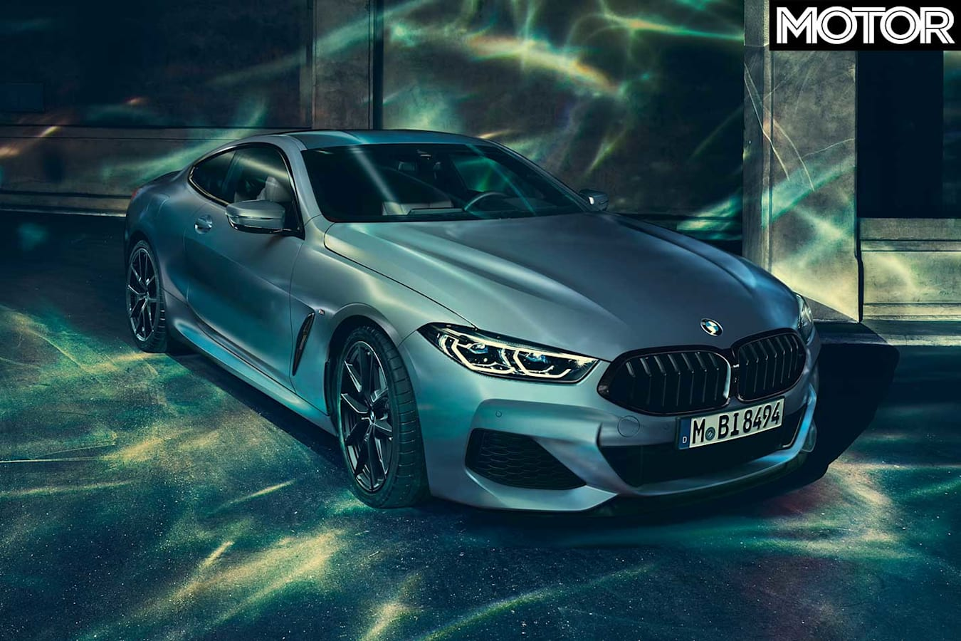 2019 BMW M 850 I First Edition Front Jpg