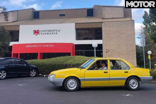 Holden Camira VL Commodore BT 1 Tribute University Of Tasmania Jpg