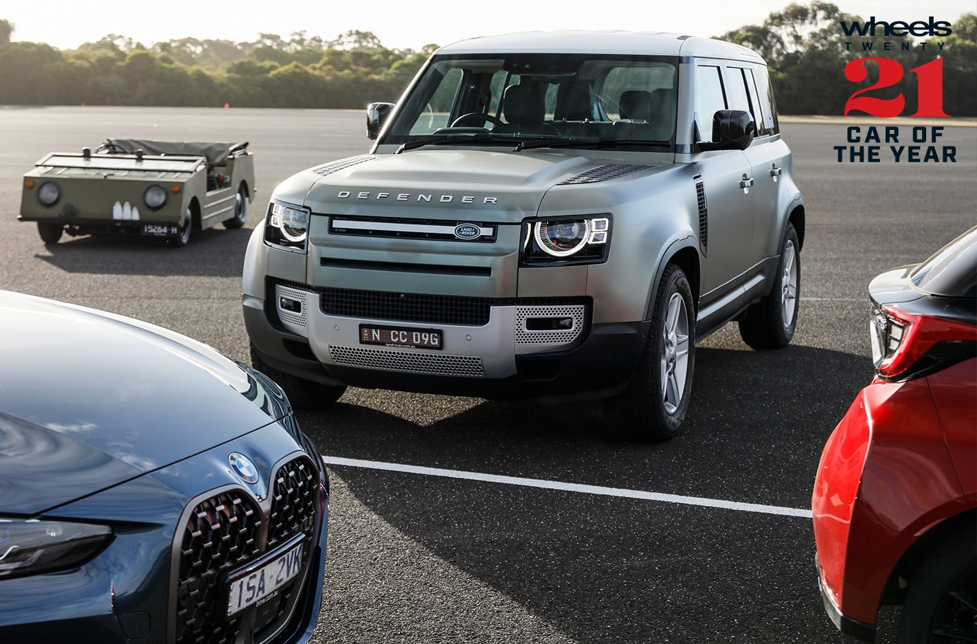 Wheels Car of the Year 2021 contender Land Rover Defender