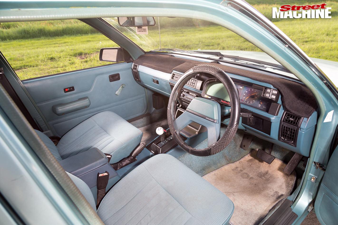Holden VL Commodore interior front