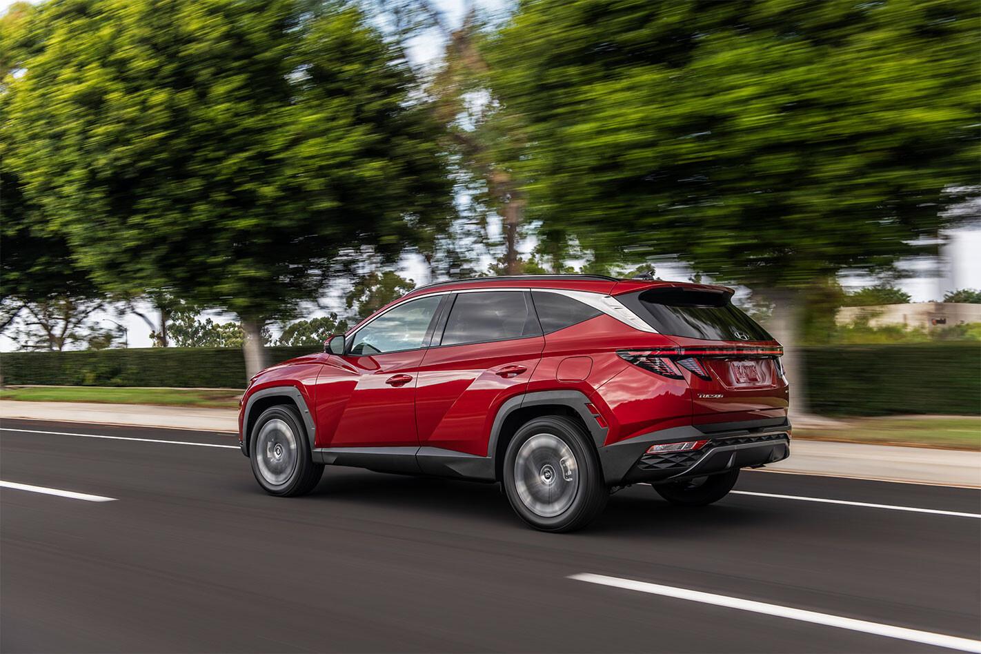 2021 Hyundai Tucson PHEV HEV
