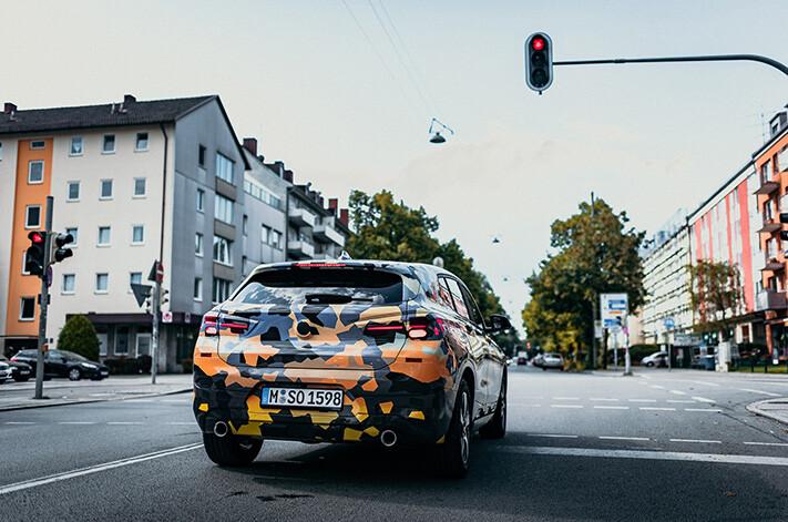 2018 BMW X2  rear