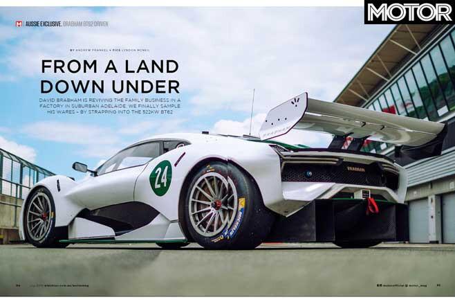 MOTOR Magazine July 2019 Issue Brabham BT 62 Review Jpg