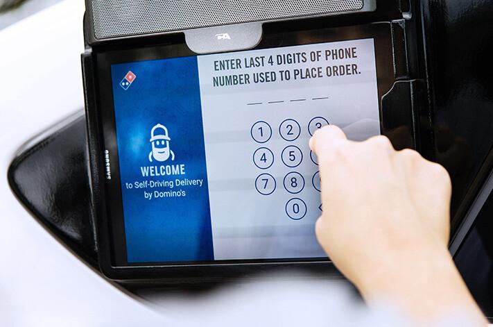 Ford Autonomous Pizza Tablet Jpg