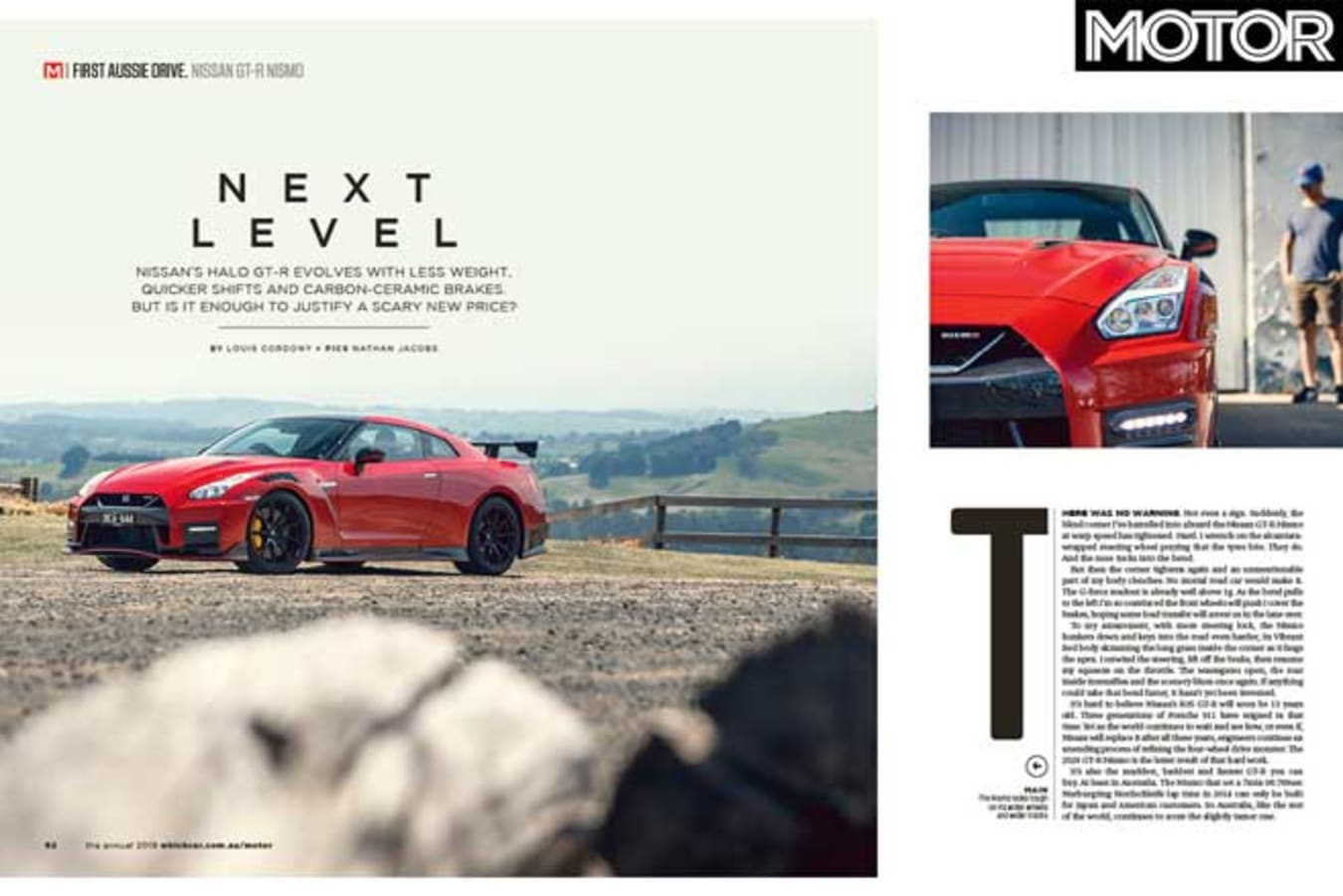 MOTOR Magazine Annual 2019 Issue 2020 Nissan GT R NISMO Review Jpg