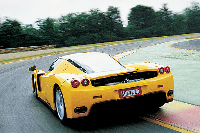 2002 Ferrari Enzo rear