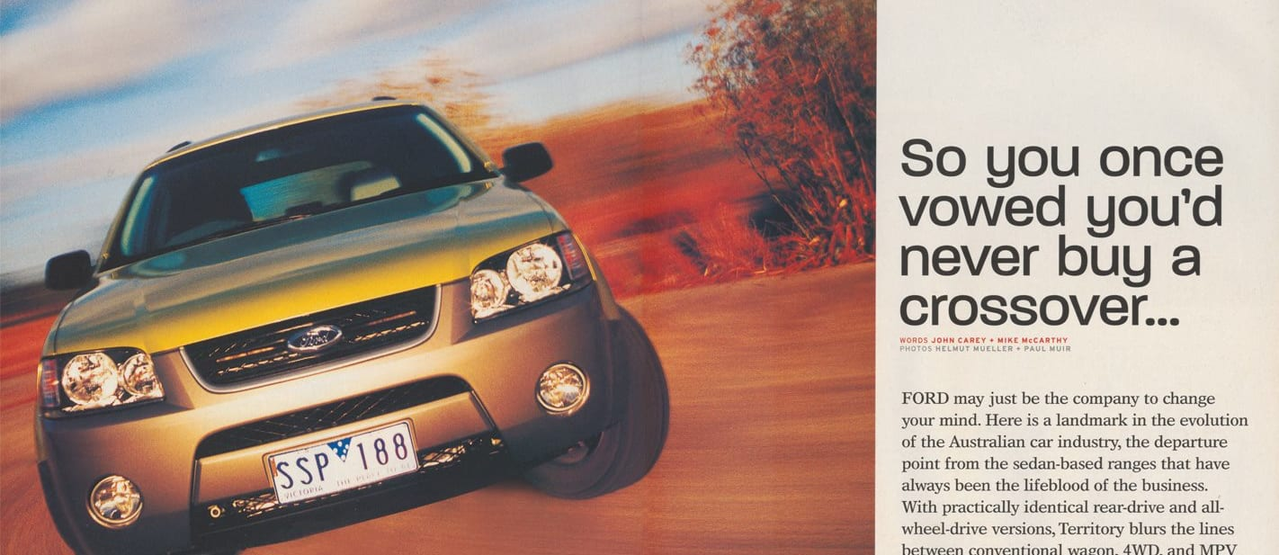 Retro Review 2004 Ford Territory