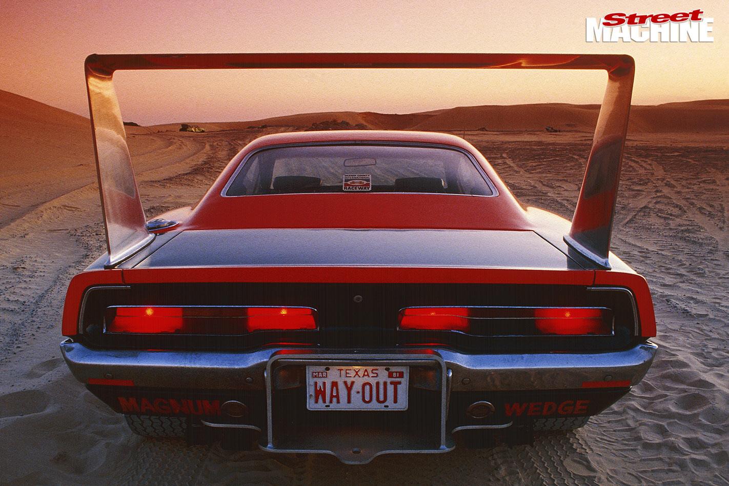 Dodge Charger Daytona rear