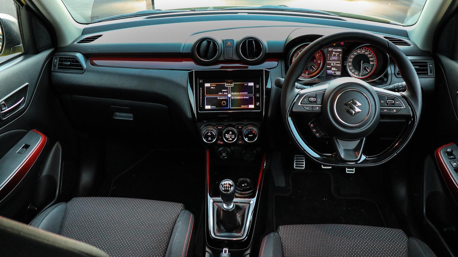 2019 Suzuki Swift Sport interior