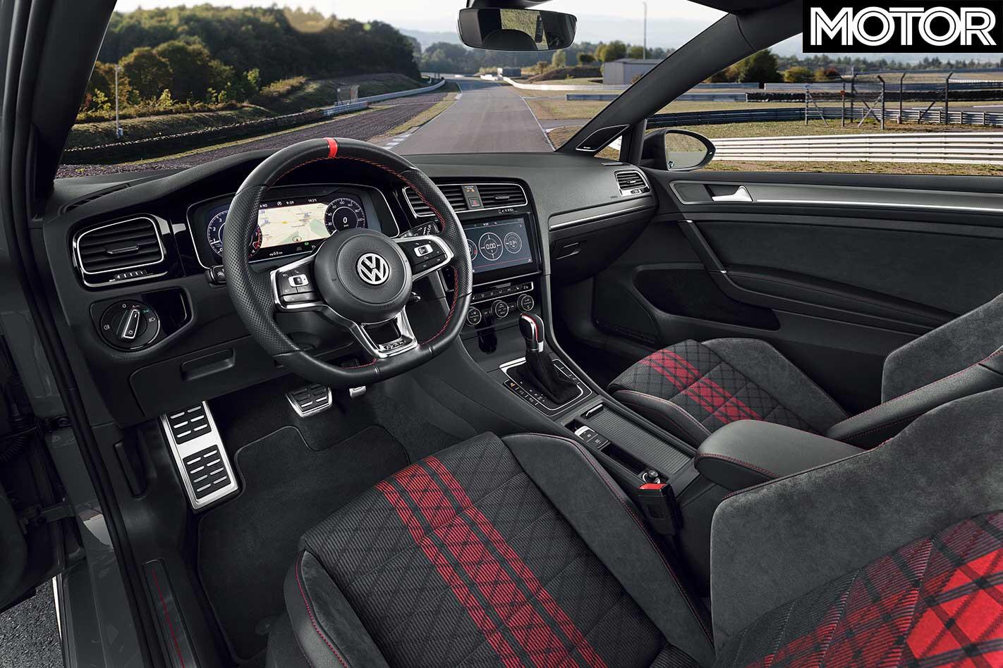 Volkswagen Golf GTI TCR Interior Jpg