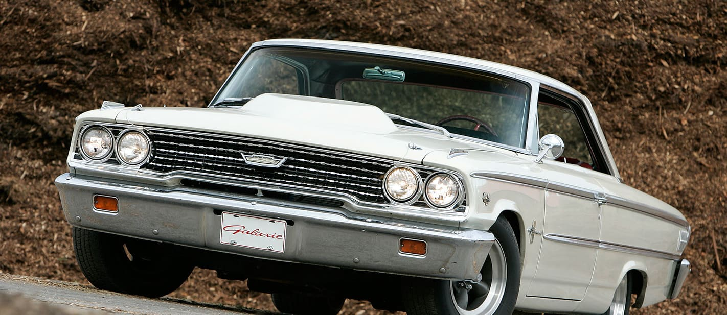 ford galaxie front nw
