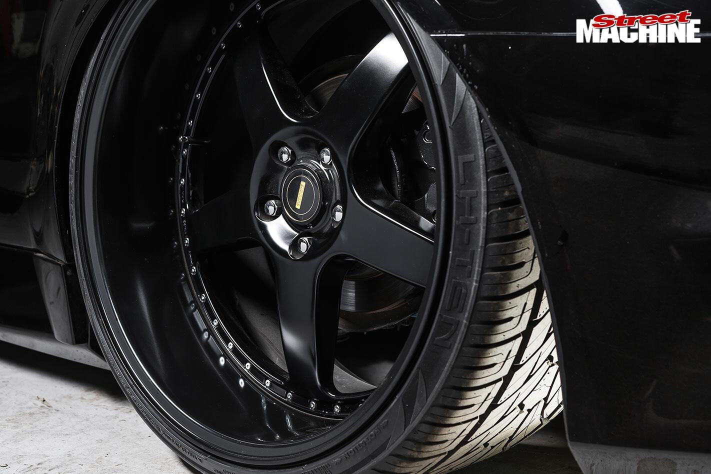 Holden VE ute wheel