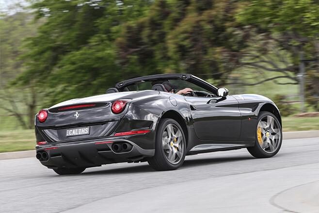2017 Ferrari California T HS rear turning