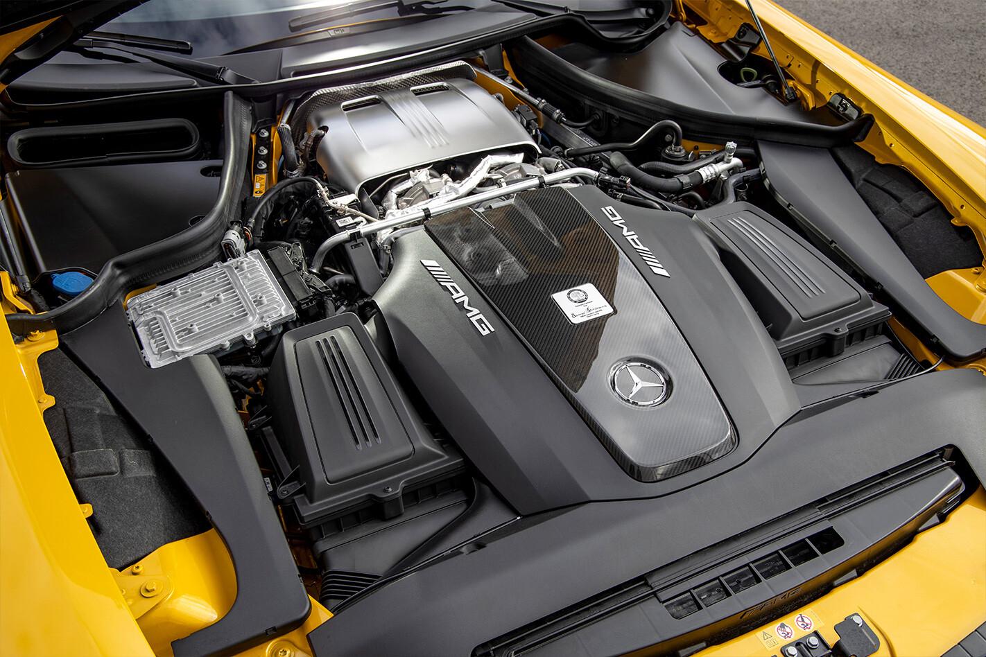 Mercedes Amg Gt Engine Jpg