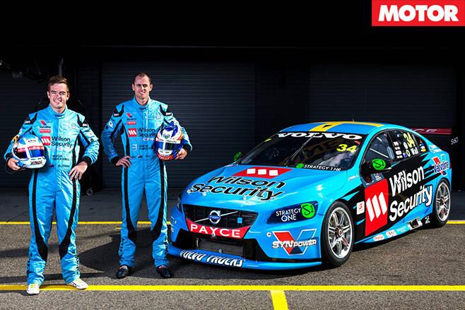 Volvo team with volvo V8 polestar