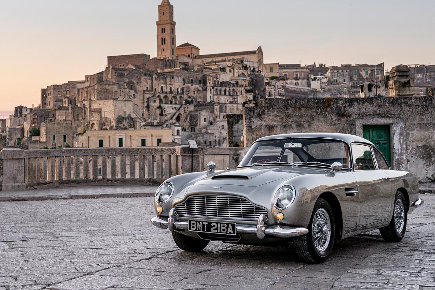 Bond No Time to Die Aston Martin DB5