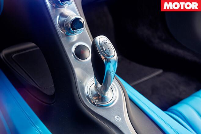 Bugatti Chiron gearbox