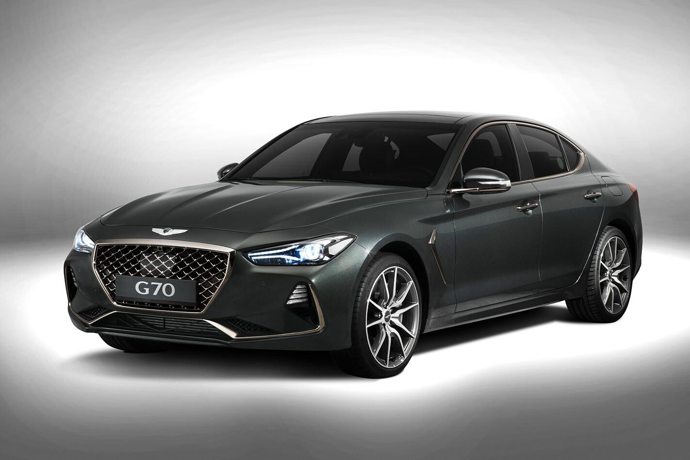 2018 Genesis G70 revealed