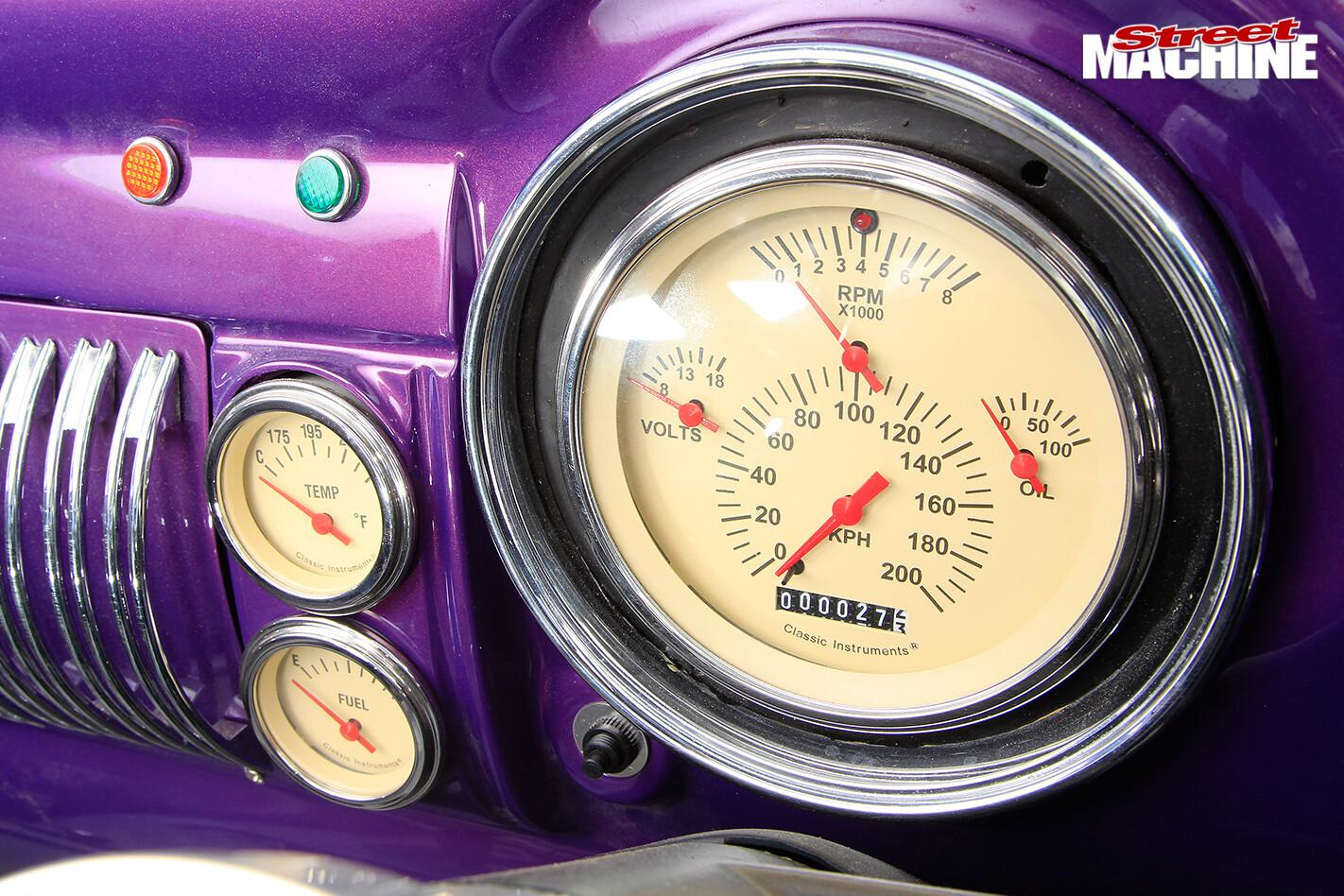 Vauxhall -velox -gauges