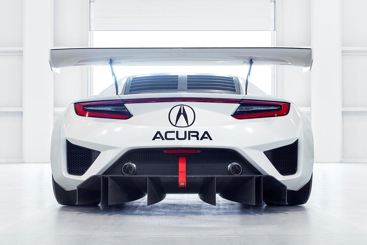 Honda NSX GT3 ACURA rear