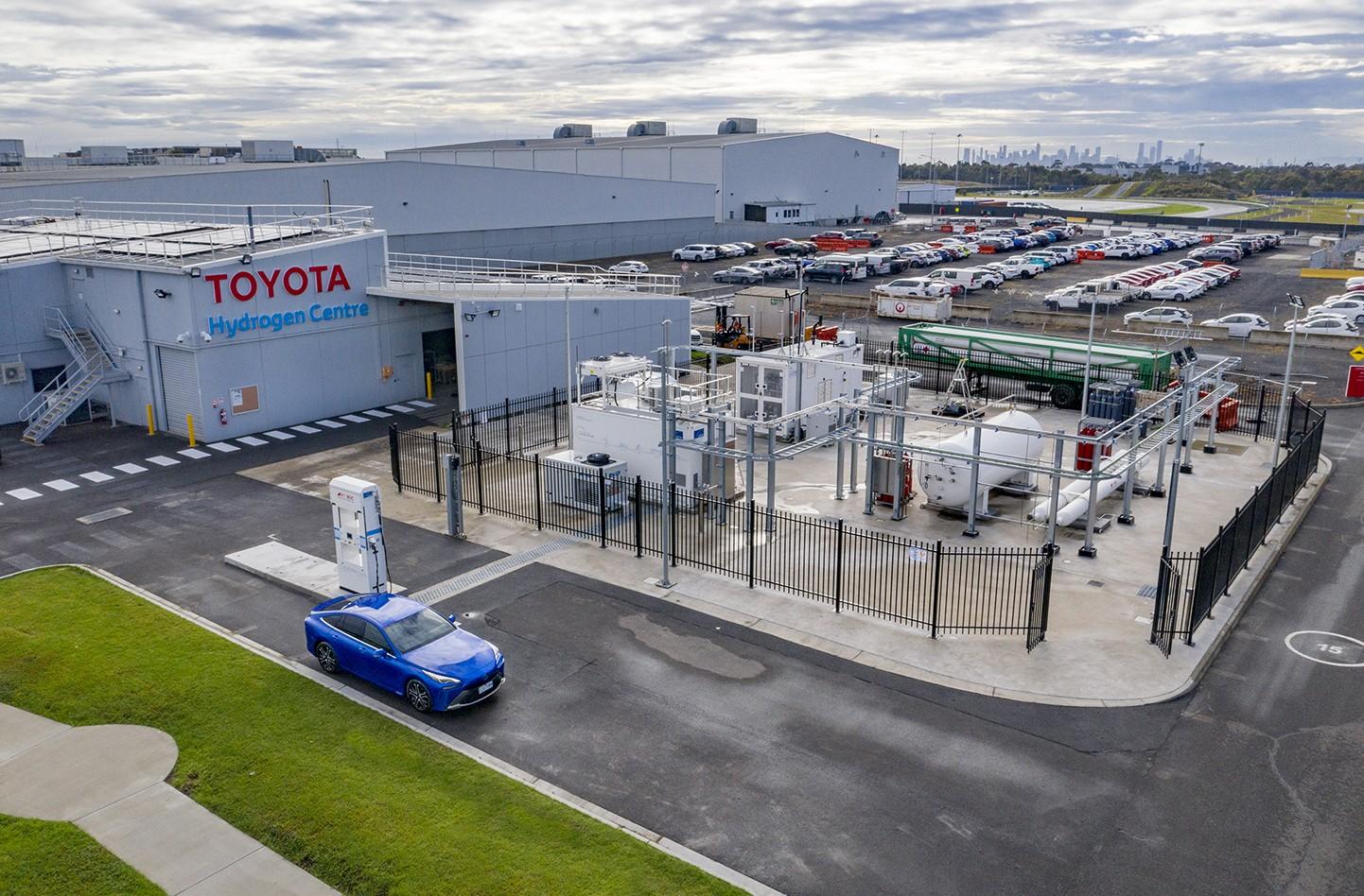 Toyota Hydrogen centre
