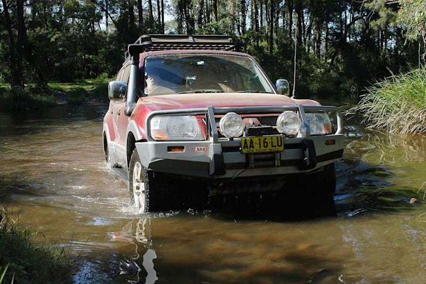 4x4 trip to Washpool National Park NSW