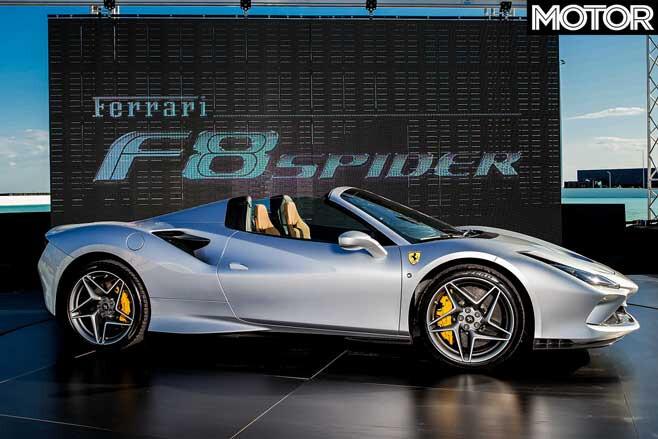 Ferrari F 8 Spider Side Jpg