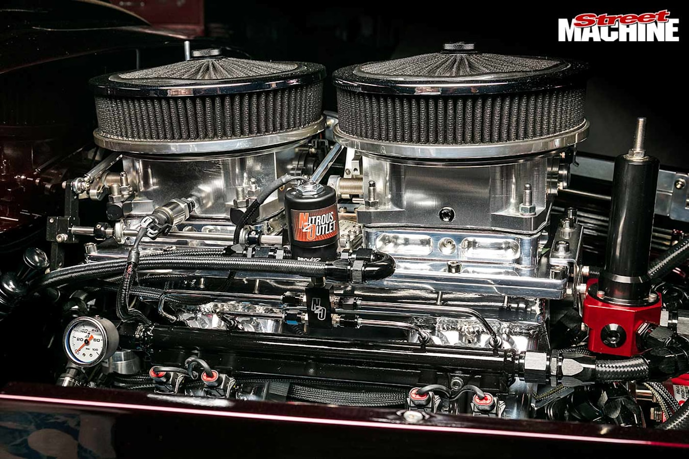 Plymouth coupe engine