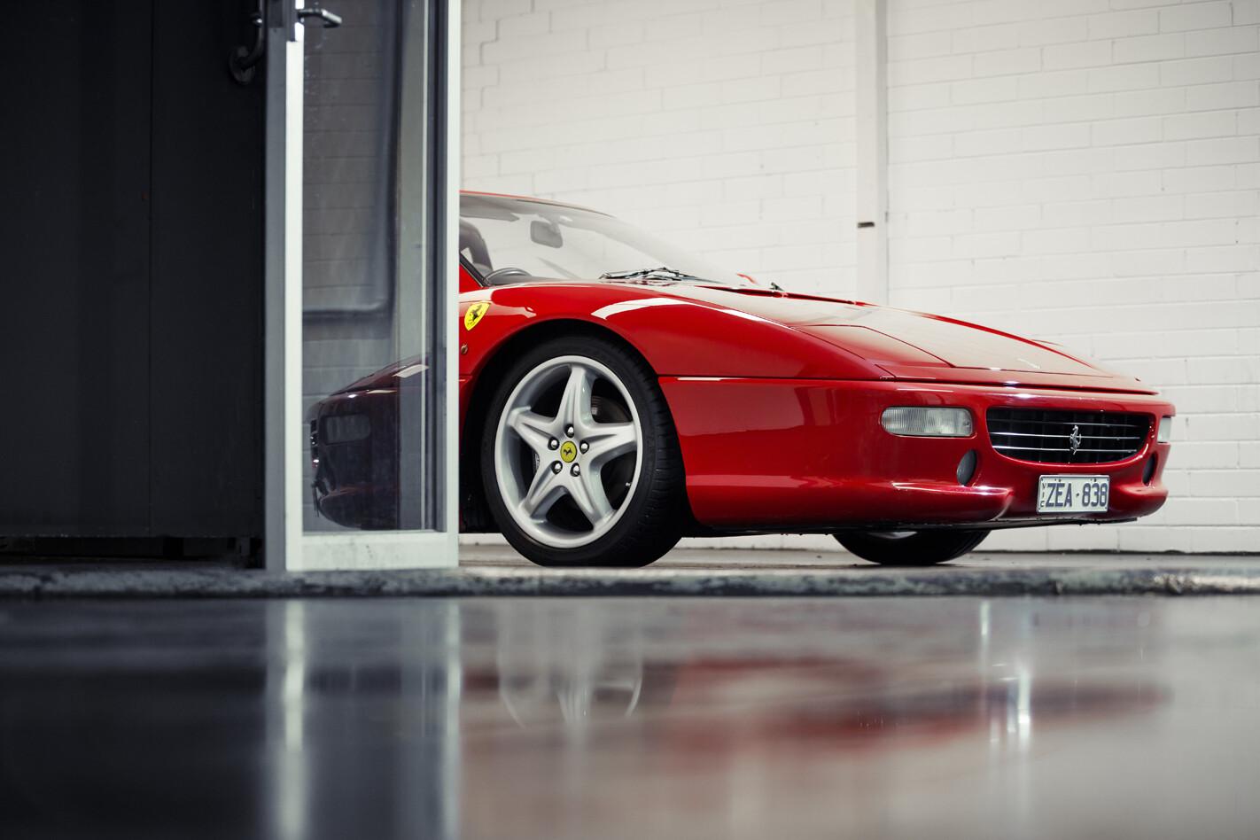 Ferrari F355 GTS nose