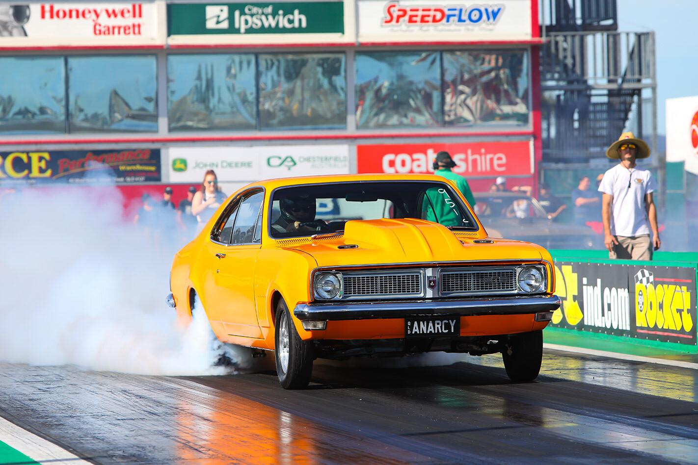 Scott Skews Holden HG Monaro