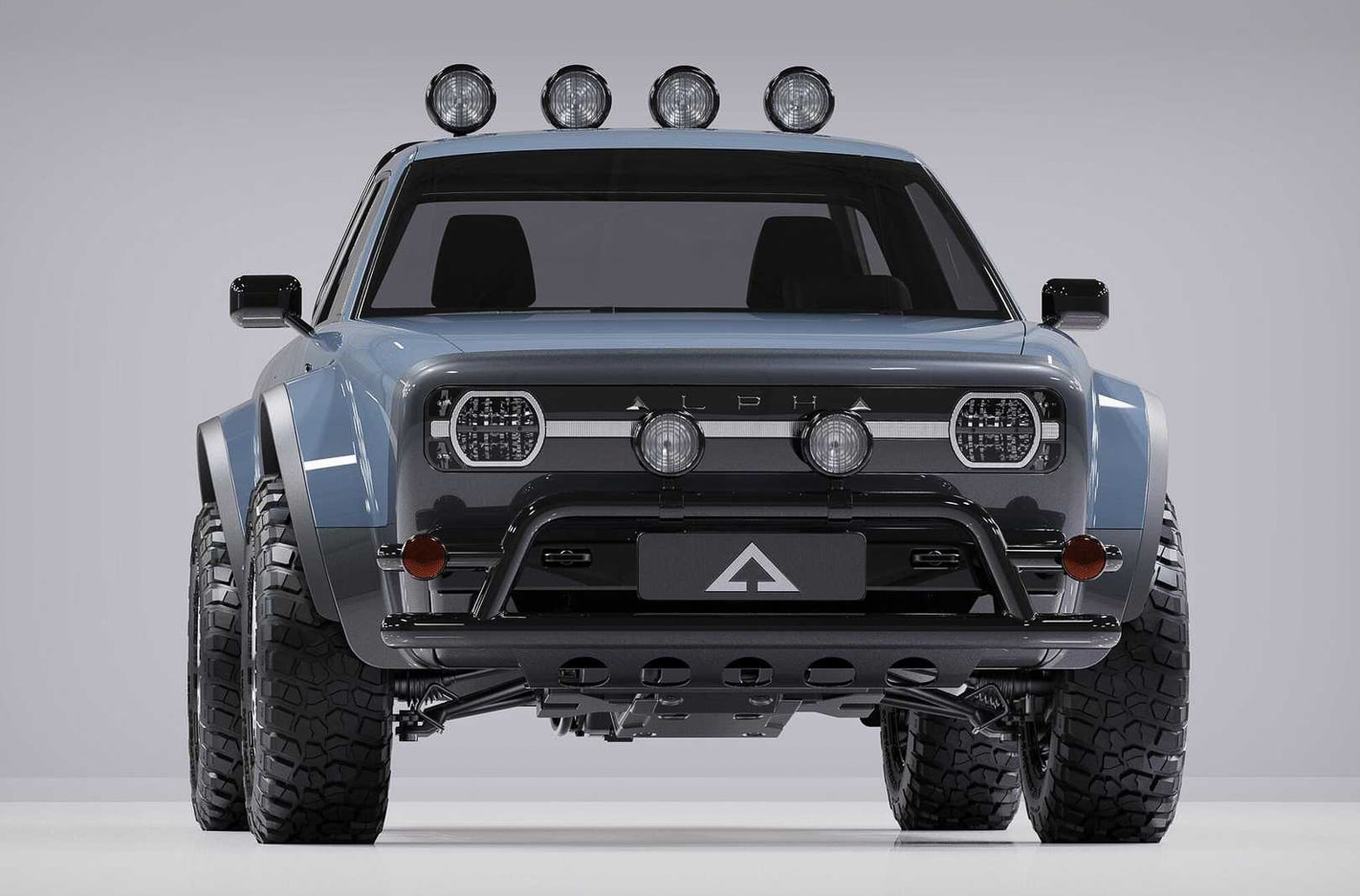 Alpha Wolf Compact Electric Pickup Truck 5 3 Jpg