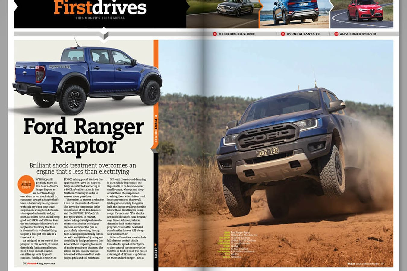 raptor Wheels magazine preview