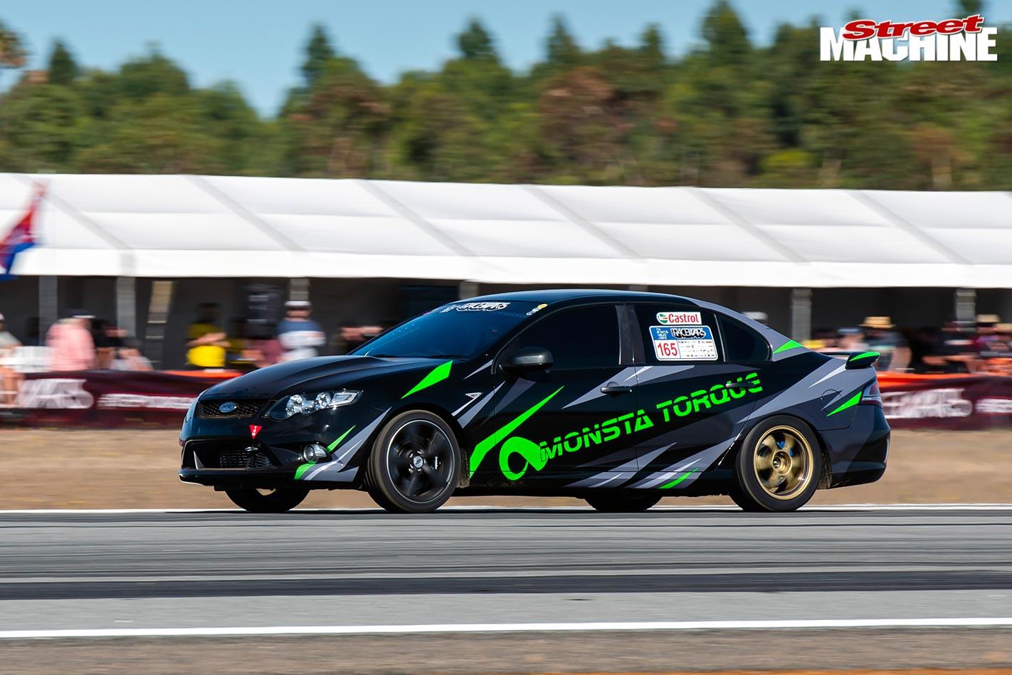 Ford Falcon at Racewars