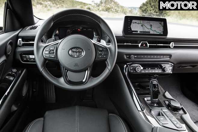 2020 Toyota GR Supra Dashboard Jpg