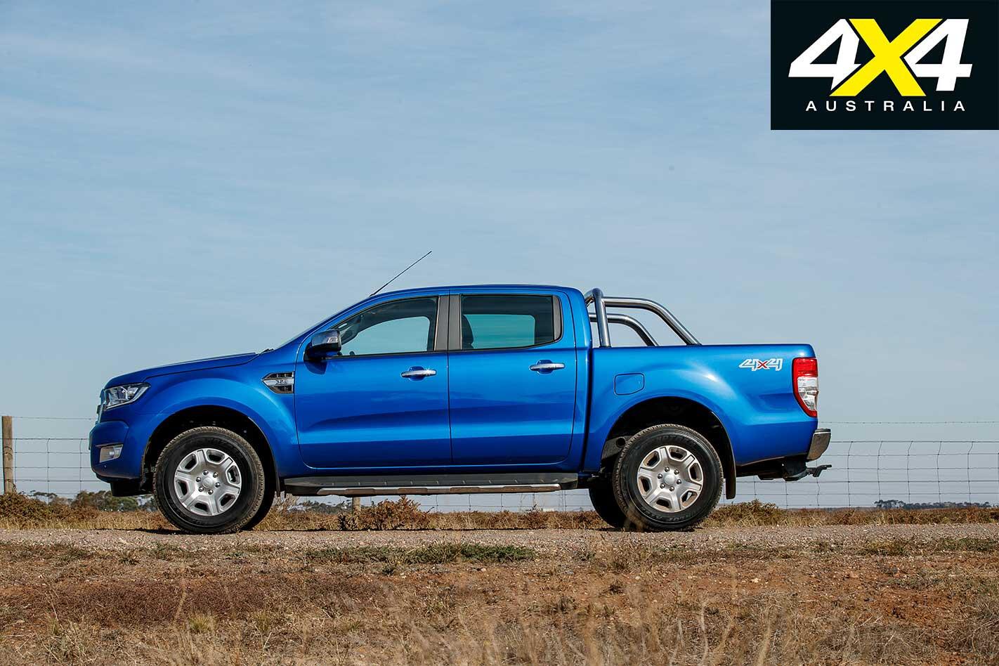 2018 Mega Ute Test Ford Ranger Xlt Profile Jpg