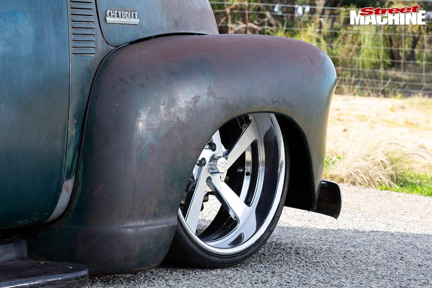 Chevy pickup fender