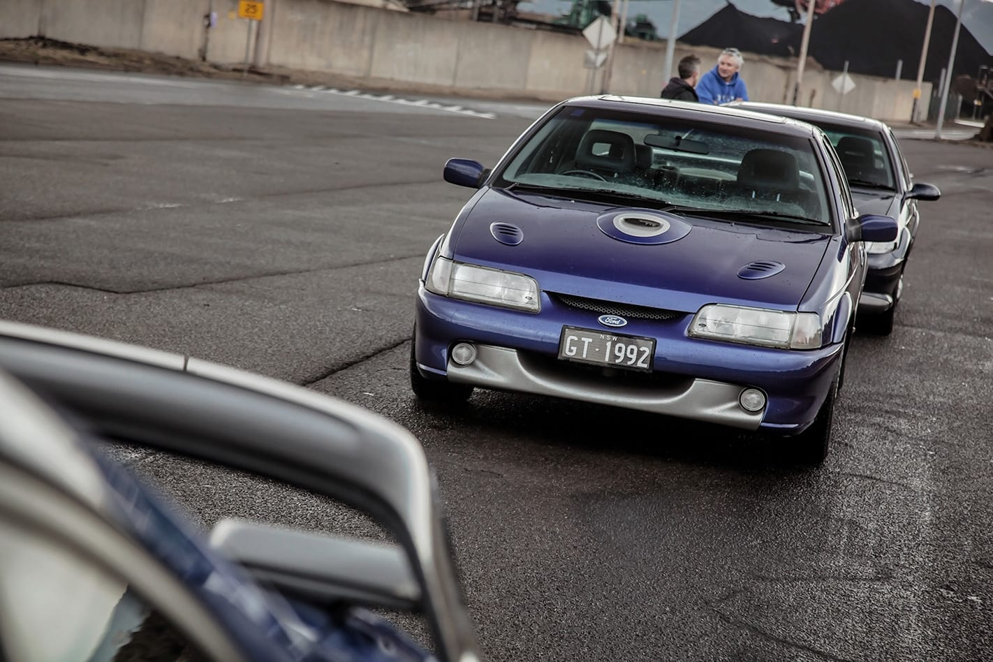 1993 EB II Ford Falcon GT front facing.jpg