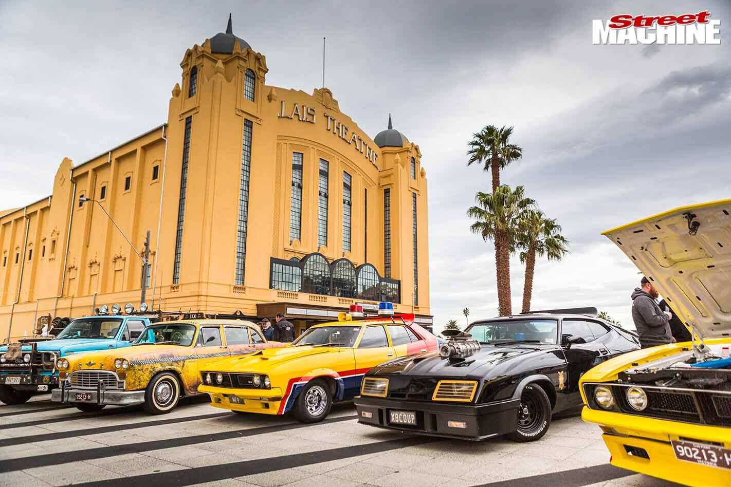 St Kilda car show