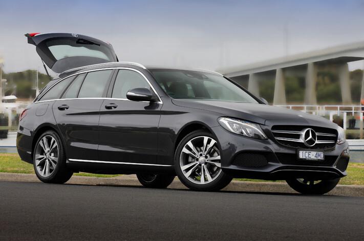 Mercedes C Class Estate Jpg