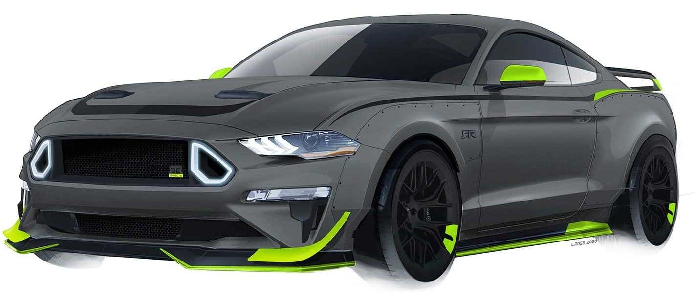 RTR 10th Anniversary Mustang revealed