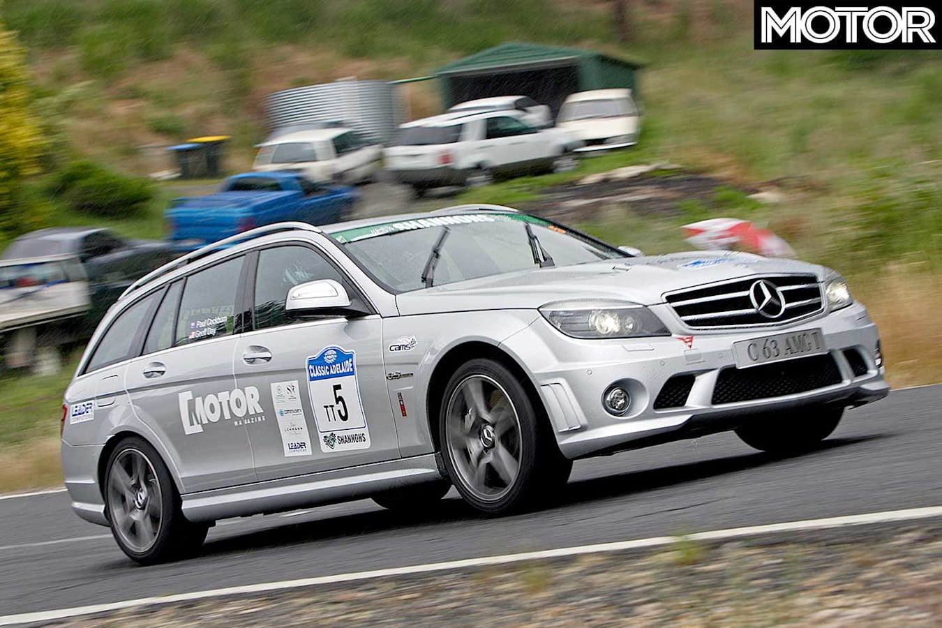 Tackling The Classic Adelaide With C 63 Amg Estate Jpg