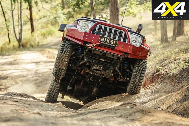 Custom Jeep Cherokee Limited offroad