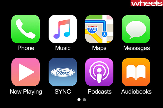 Ford -Sync -3-Apple -Car Play -touchscreen