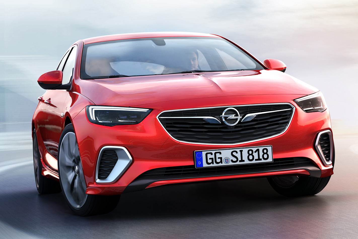 2017 Opel Insignia GSi looks a bit like the 2018 Holden Commodore VRX