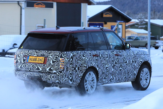 2018 Range Rover sport rear