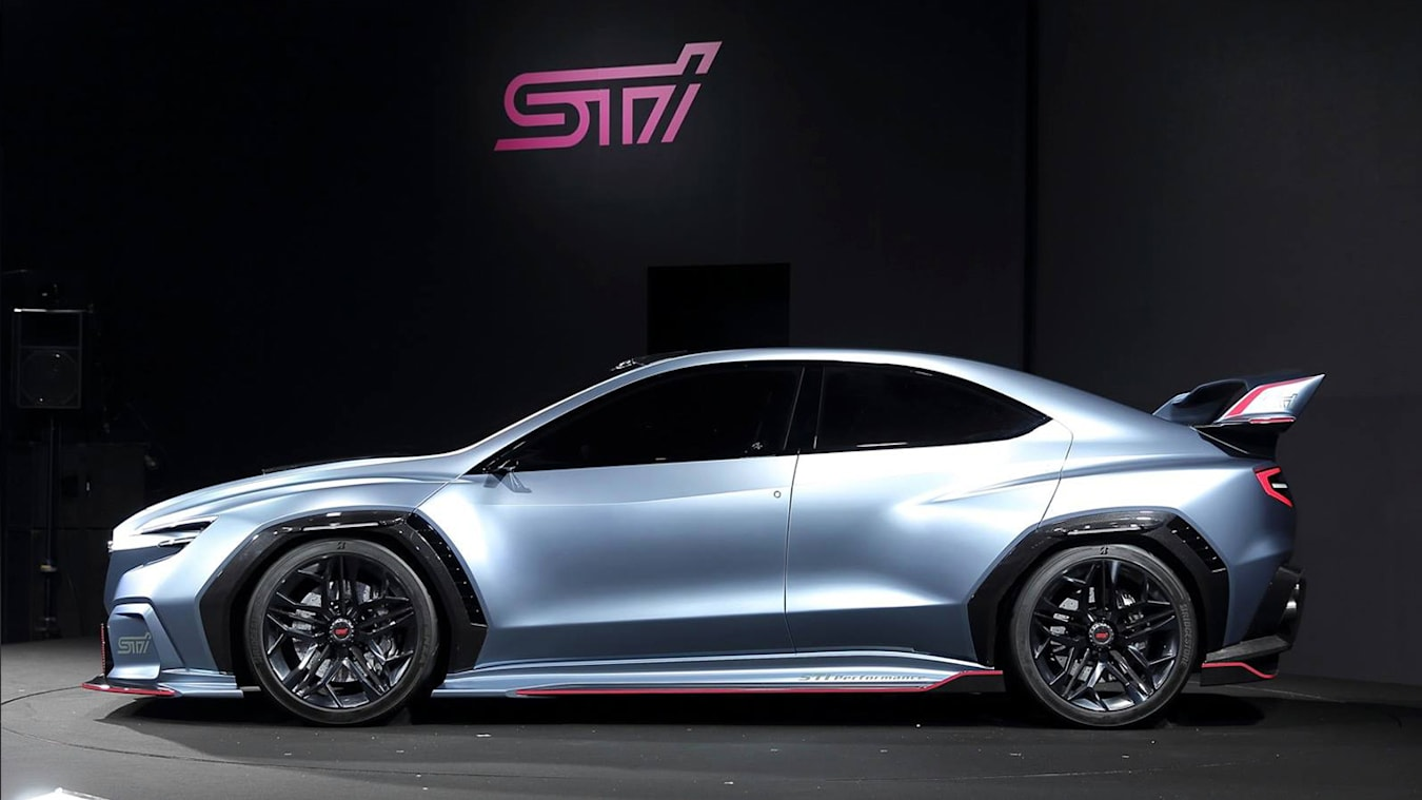 Subaru Viviz Performance STI Concept side